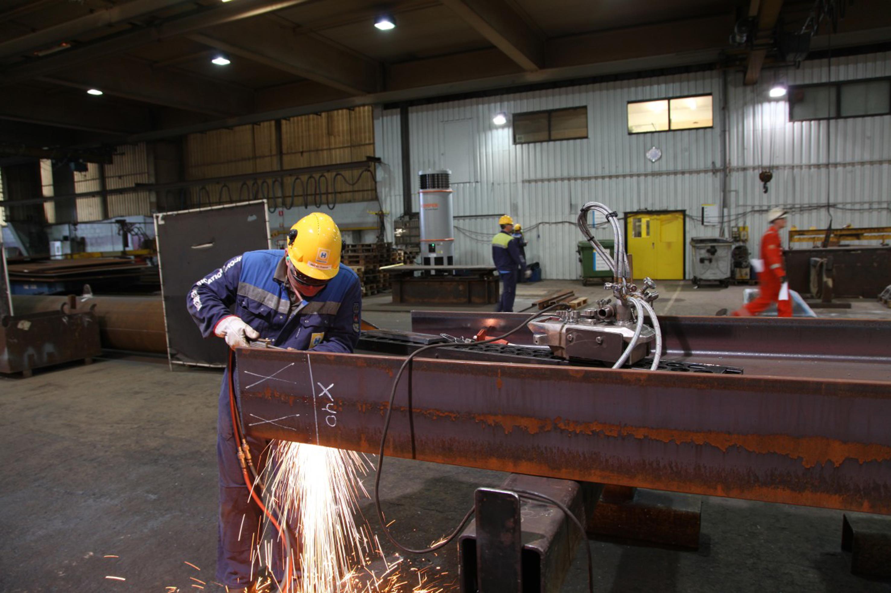 Heerema employs innovative displacement ventilation