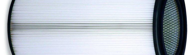 Filter in der Form von Patronen eignen sich besonders für die effektive Abscheidung von Schweißrauch.