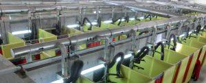 Ob mobiles Absauggerät oder zentrale Filteranlage: Der Absaugarm lässt sich in verschiedene Arbeitsumgebungen integrieren.