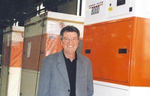 Mit dem System 8000 brachte KEMPER 1992 eine erste zentrale Filteranlage gegen Schweißrauch auf den Markt.