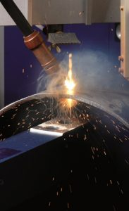 Laser welding: welding fumes in automated processes