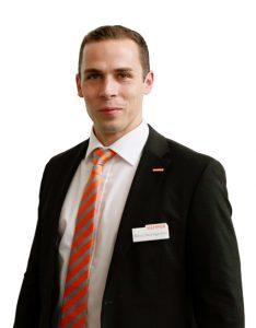 Marco Baumgärtner steht für einen effektiven Arbeitsschutz beim Schweißen ein.